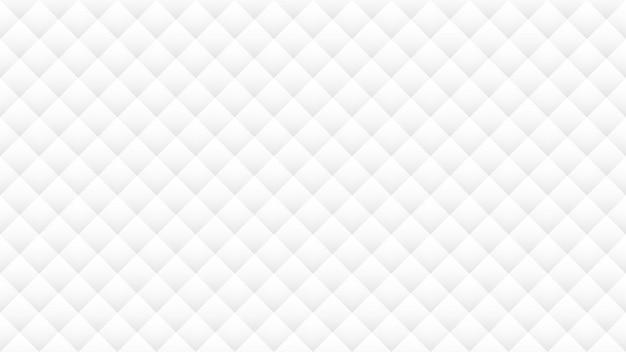 White and gray geometric shape seamless pattern background Premium Vector