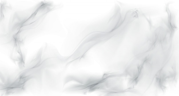 White gray marble realistic texture background Free Vector
