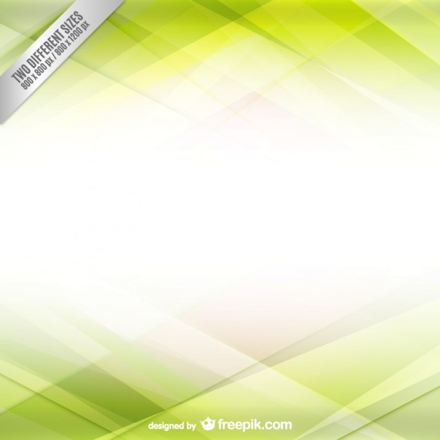 White and green background Free Vector