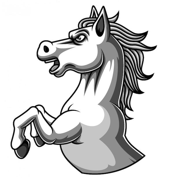 Mustangs-logo.gif (544×797)   Mustang logo, Sports logo design, Horse logo