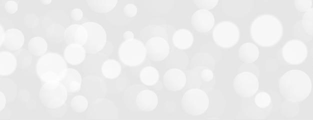 Белые огни боке элегантный дизайн Бесплатные векторы