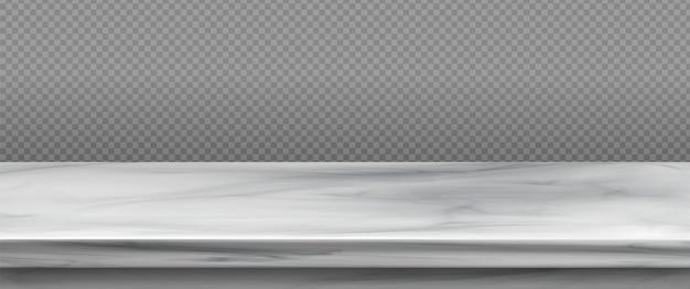 Piano del tavolo in marmo bianco Vettore gratuito