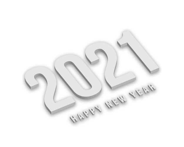 Белые новогодние цифры с тенями. Premium векторы