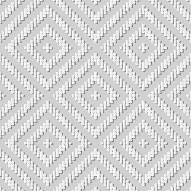 백서 아트 커브 크로스 라인 체크 스퀘어 프레임, 웹 배너 인사말 카드에 대한 세련된 장식 패턴 배경 프리미엄 벡터