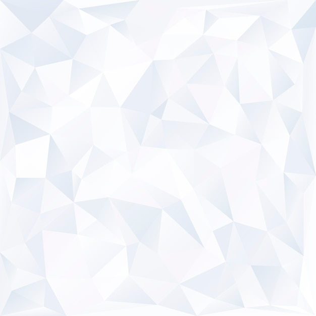 白いプリズム背景デザインベクトル 無料ベクター