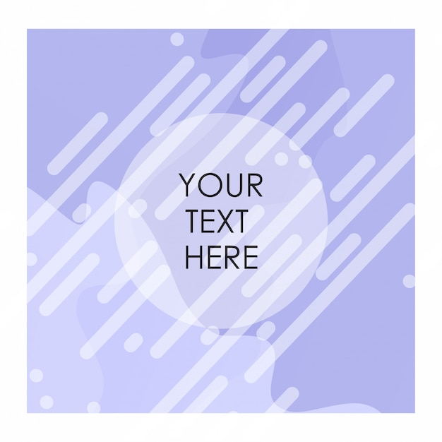 White and purple color bakcground with typogrpahy vector Premium Vector