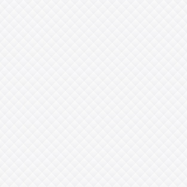 White rhombus pattern Free Vector