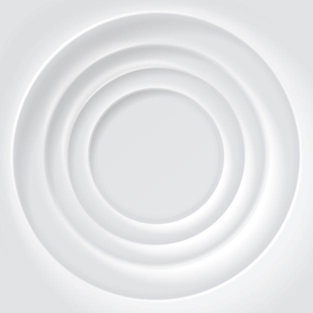 White rippled surface background Premium Vector