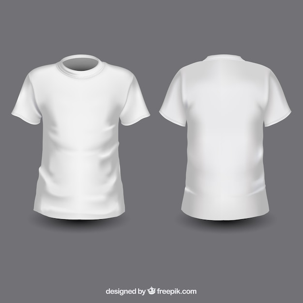 White t shirts Vector | Free Download