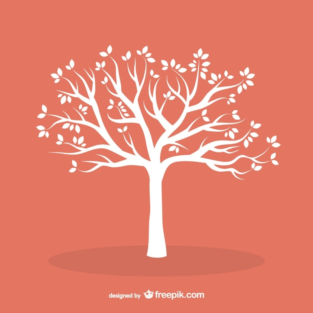 Tree vectors photos and psd files free download white tree with leaves altavistaventures Image collections