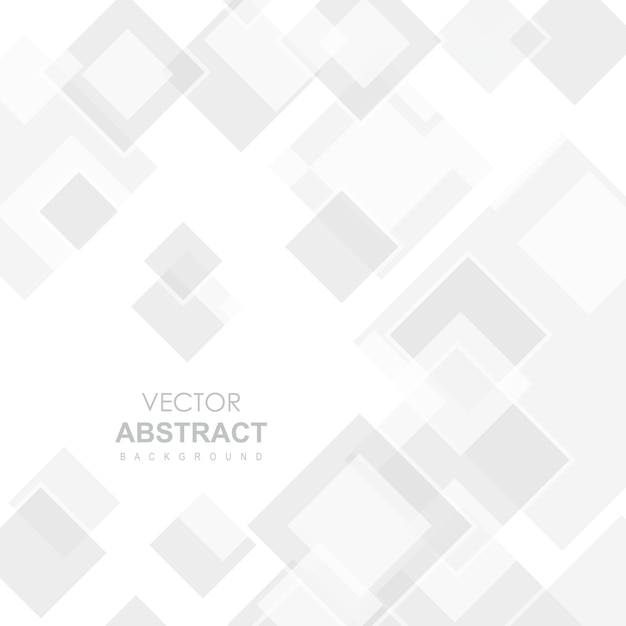 White Vector Abstract Background Free Vector