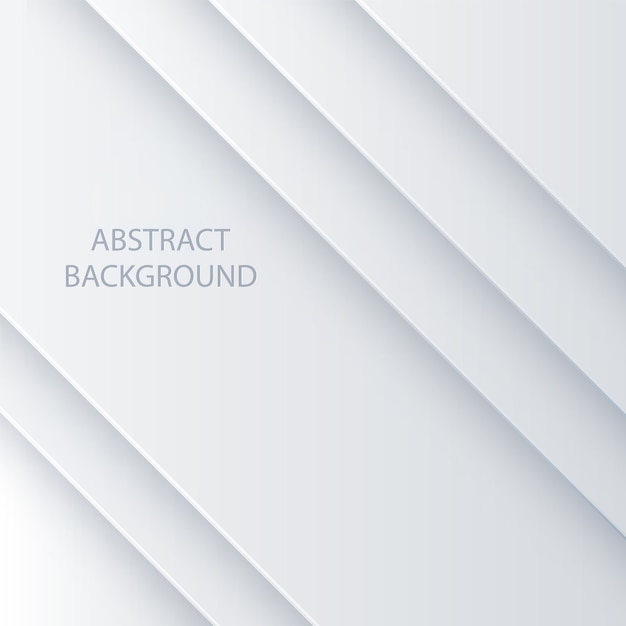White vector abstract background Premium Vector
