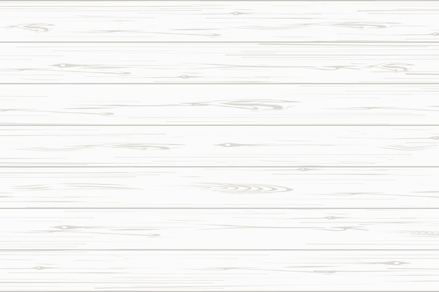 White wood plank texture background. Premium Vector