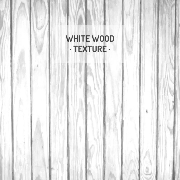 White Wood Texture Free Vector