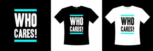 Какая разница! типография дизайн футболки Premium векторы