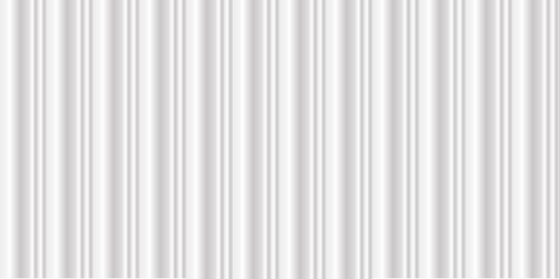 Wide clean white metal texture background with luxury curve Premium Vector