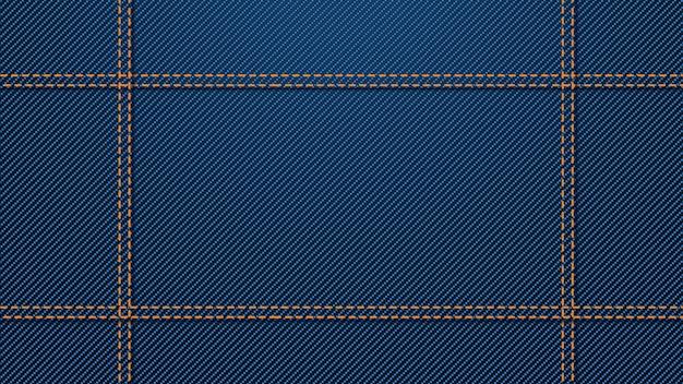 Wide jeans background Premium Vector