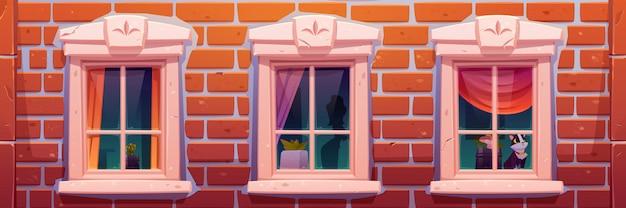 windows-house-castle-brick-wall-facade_33099-2273.jpg (626×208)