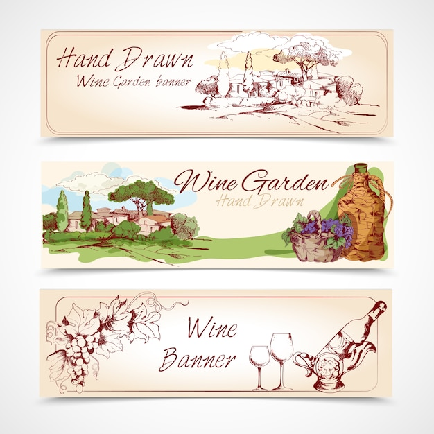 Wine Labels Vectors, Photos and PSD files   Free Download