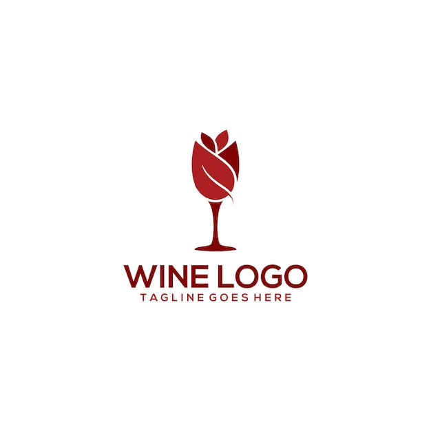 Wine logo Premium Vector
