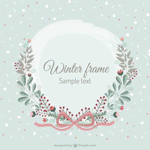 Winter Frame Vector Art & Graphics | freevector.com
