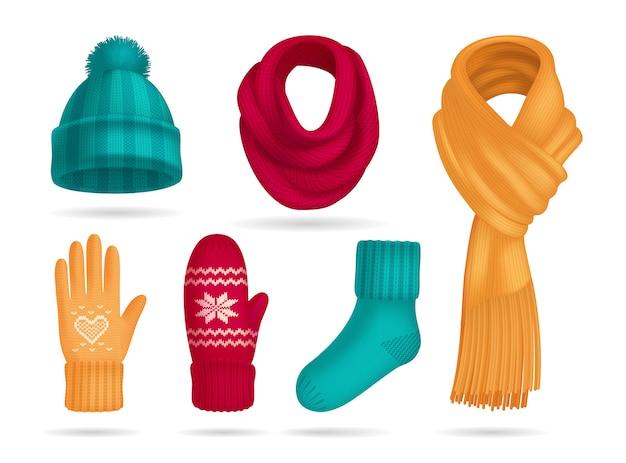 Romano Blue Warm Winter Wool Hand Gloves For Boy