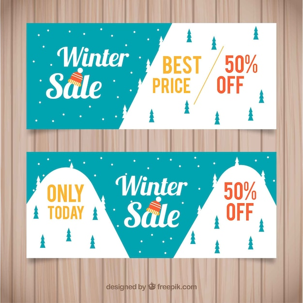 Winter Sale Banners Builder Banners