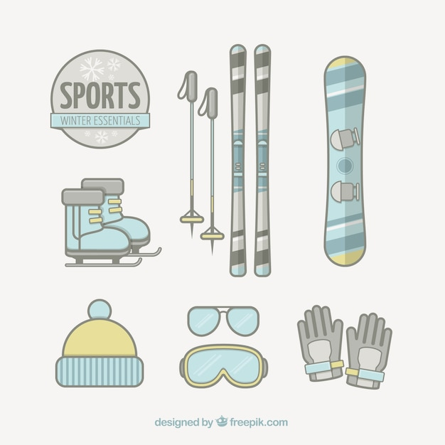Winter sport essentials