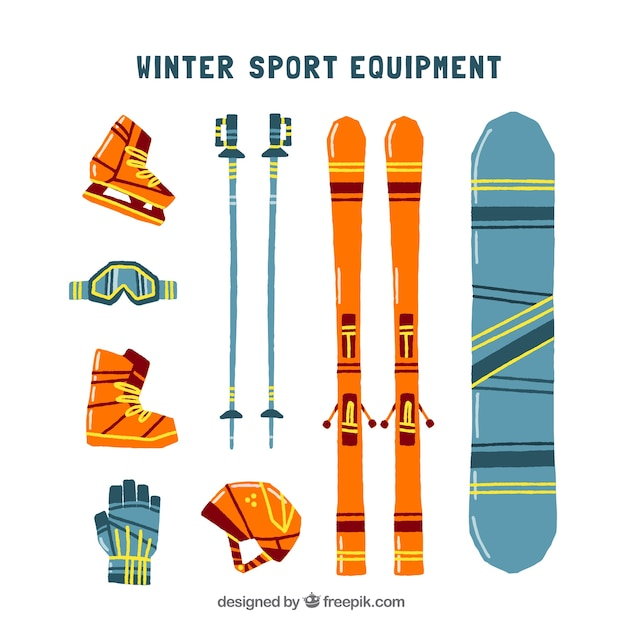 Winter sports equipment and accessories