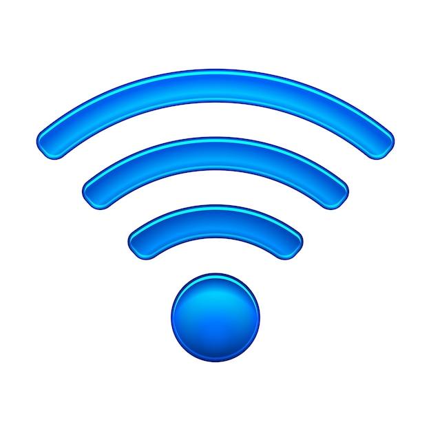 ワイヤレスネットワークのシンボル 無料ベクター