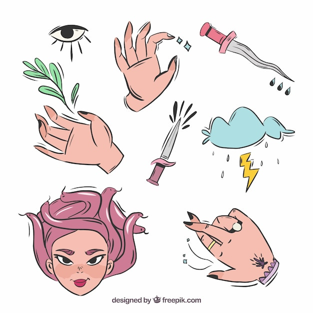 witch-set-hand-drawn-spell-elements_23-2