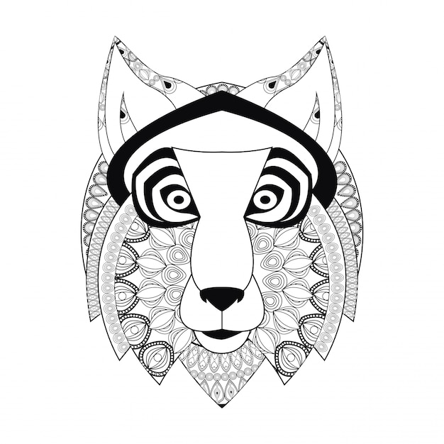 Premium Vector Wolf Icon Animal And Ornamental Predator Keyboard shortcuts ← → flip it). freepik