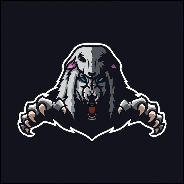 Wolf In Sheep Clothing Mascot Logo Vector Premium Download