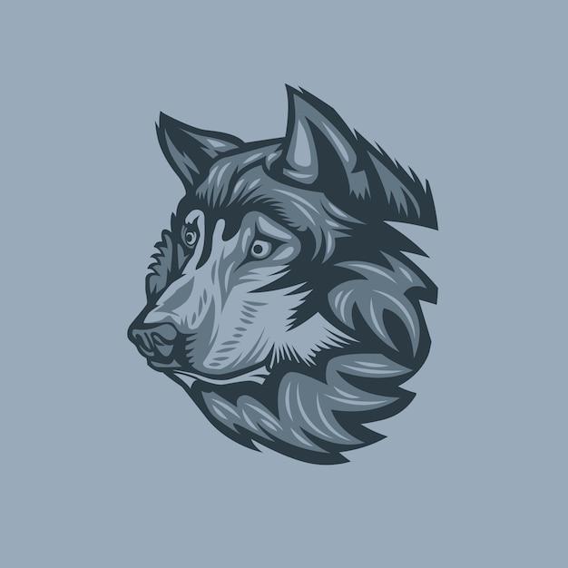 Wolf Premium Vector