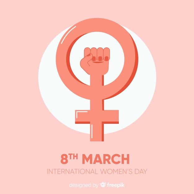 Women's day Free Vector