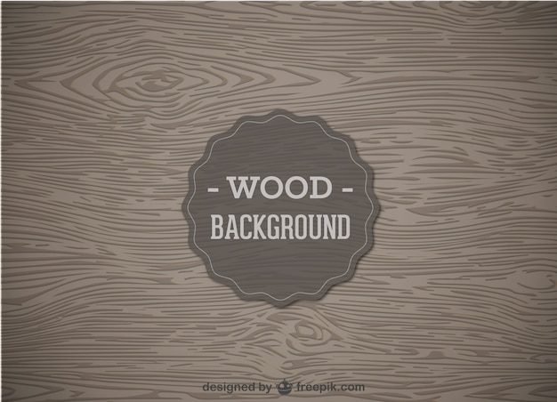 Wood background vector Free Vector