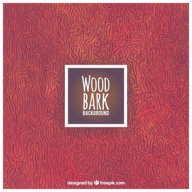 Wood bark background Free Vector