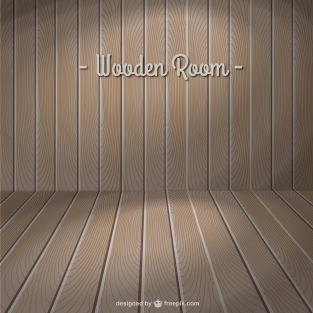 Wood template vector