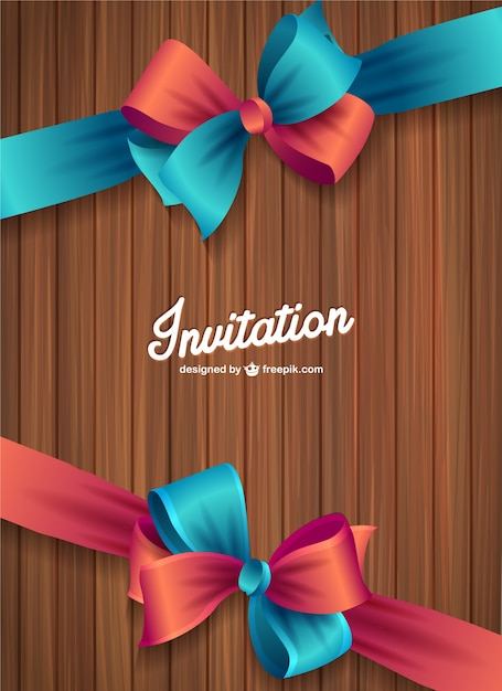 Wood texture invitation vector vector free download wood texture invitation vector free vector stopboris Images