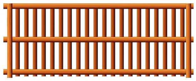 Деревянный забор Бесплатные векторы