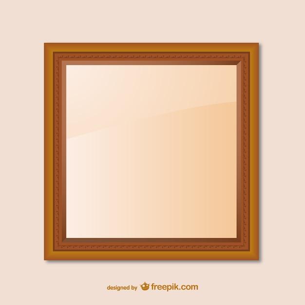 Wooden Frame Design : Wooden frame design Vector  Free Download