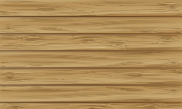 Wooden panel illustration of realistic wood\ texture background with plank seamless pattern