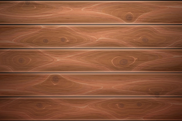 Wooden texture background illustration Premium Vector