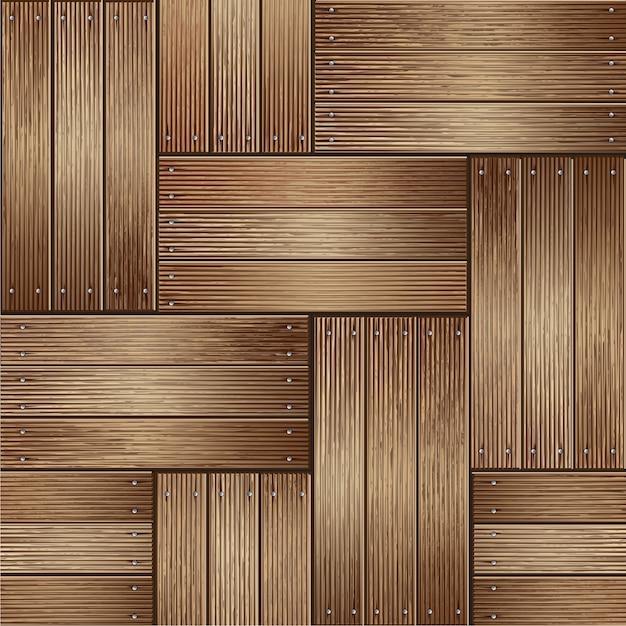 Wooden texture background. vector illustrator Premium Vector