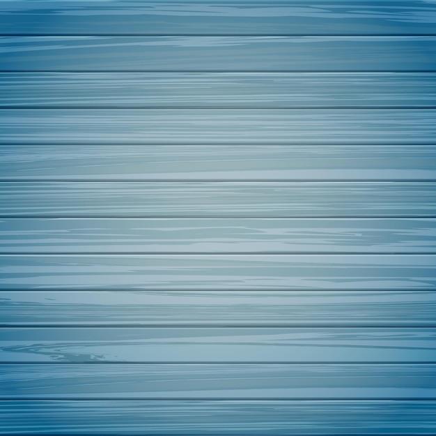 青い色の背景の木の質感 Premiumベクター