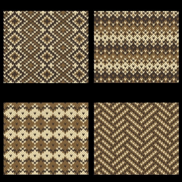 Wool textures collection