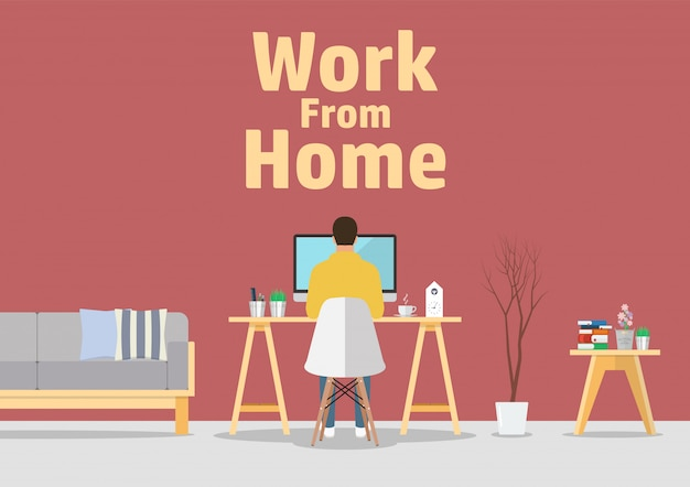 vector work from home
