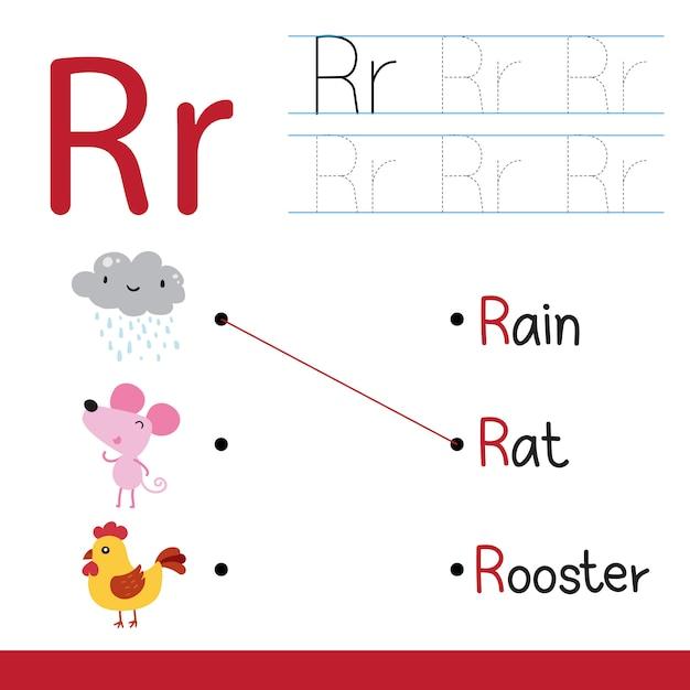 Worksheet vector design for kid, Premium Vector
