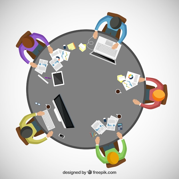 Workspace for teamwork