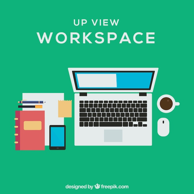 Workspace with professional style